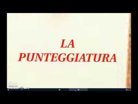 Video lezione sulla punteggiatura from YouTube · Duration:  13 minutes 12 seconds