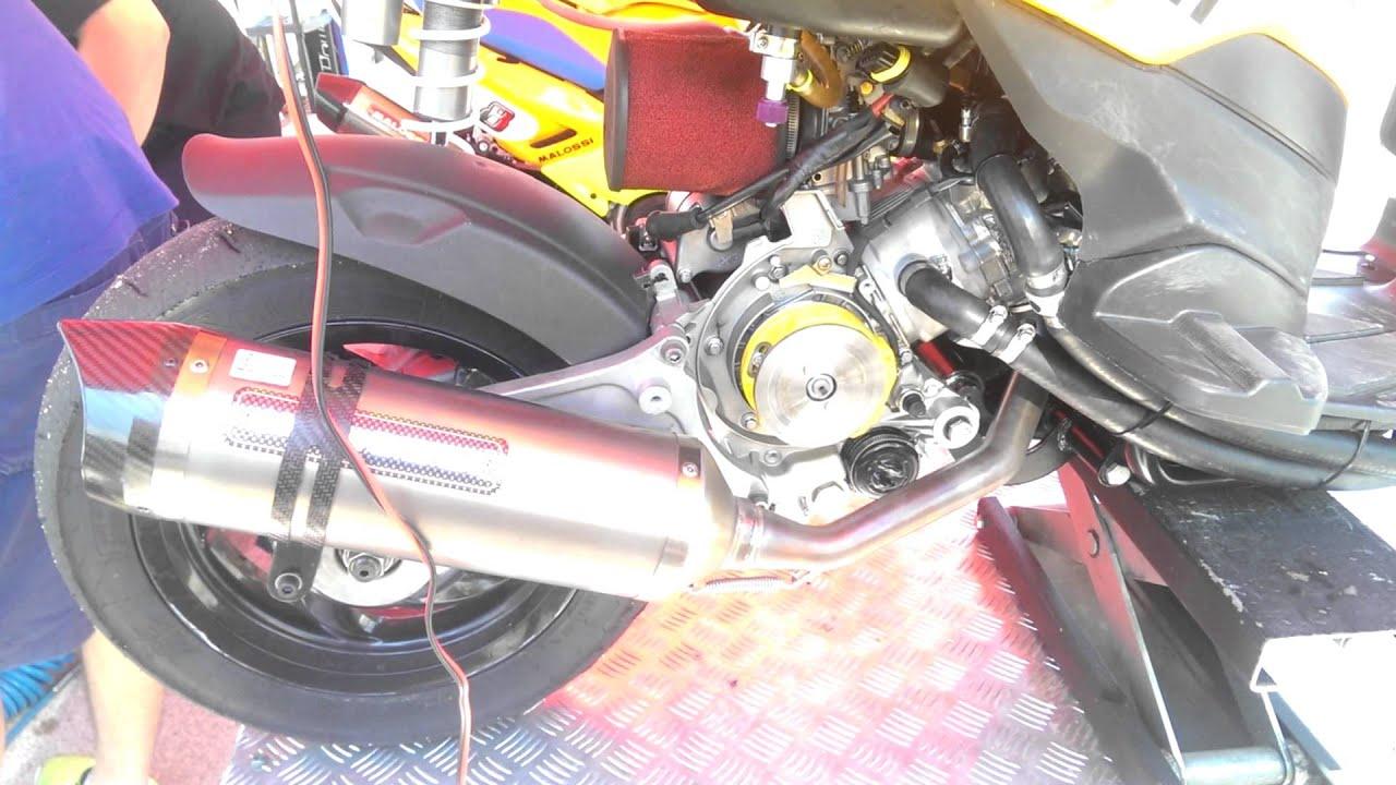 piaggio typhoon 125cc ac@218cc malossi lc 4t trofeo malossi