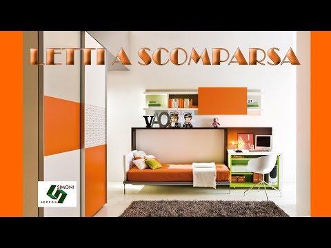 Letti a scomparsa singoli piazza e mezzo castello youtube - Ikea letti una piazza e mezzo ...