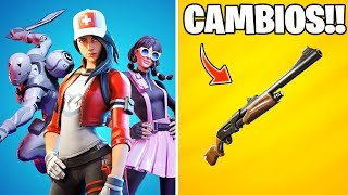 *FORTNITE 2* TODOS LOS CAMBIOS EN EL PARCHE V.11.0 | FORTNITE BATTLE ROYALE