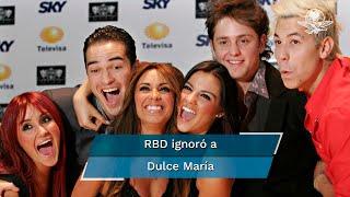 Dulce María disfruta al máximo su etapa de mamá y no se arrepiente de no haber participado en el concierto virtual de RBD