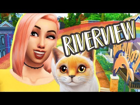 THE CHALLENGE!   Riverview   The Sims 4: Cats and Dogs Lets Play Ep.2