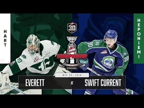 WHL IN 30 || Everett Silvertips vs Swift Current Broncos – May 04, 2018