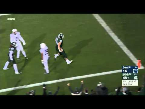 Jack Allen TD Run vs. Penn State