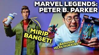 BAGUSAN MILES MORALES?? (UNBOXING & REVIEW MARVEL LEGENDS SERIES PETER B. PARKER)