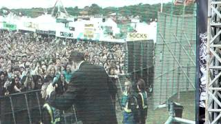 Richard Cheese Another Brick in the Wall Pink Floyd Cover @Sonisphere Festival 2011