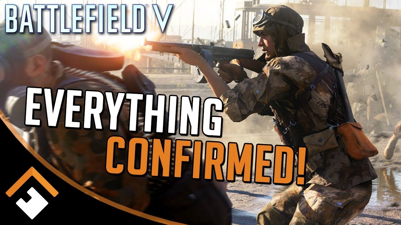 BATTLEFIELD V: All Guns, Tanks, Airplanes, Gadgets - Everything CONFIRMED for Launch!