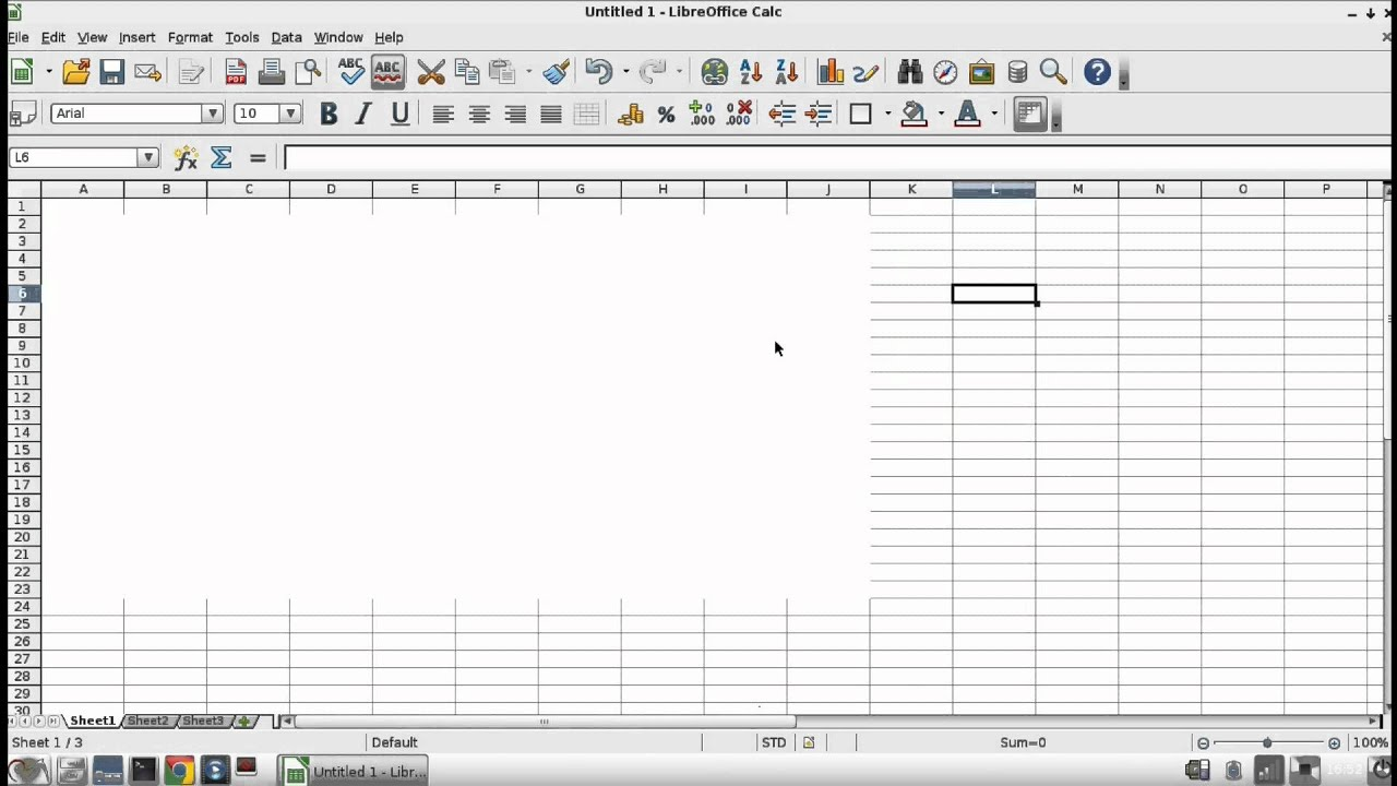 How To Hide Grid Lines In Calc Or Excel