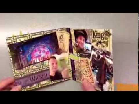 Tutorial How To Make An Accordion Scrapbook Album Cards By
