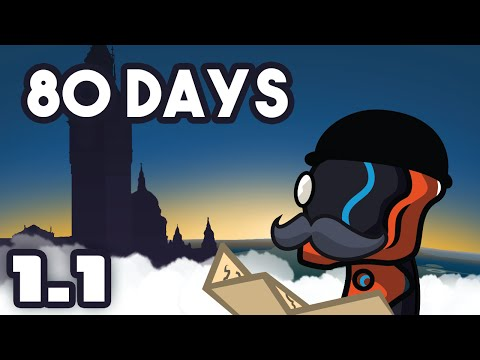 Steam-Punk Circumnavigation - Let's Play 80 Days - Part 1-1 [Gameplay & First Impressions]