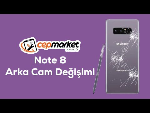 Samsung Galaxy Note 8 Rear Window cover change, requiring battery swell #note8capak