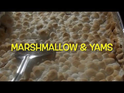 Best Melted Marshmallow Yam Recipe