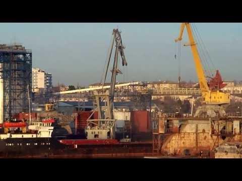 Floating crane Ganz SWL 16t