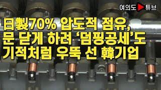 [여의도튜브] 日製70% 압도적 점유, 문 닫게 하려 '덤핑공세'도 기적처럼 우뚝 선 韓기업