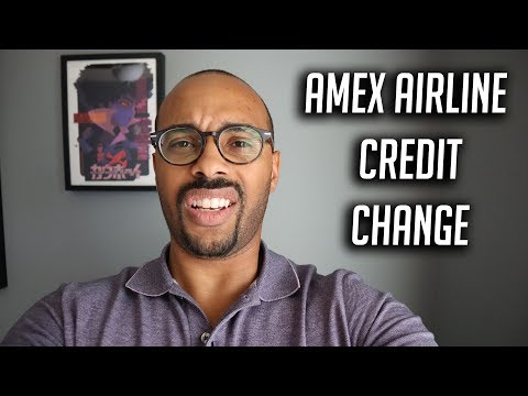 American Express Airline Credit Gift Card Hack  - Dead???