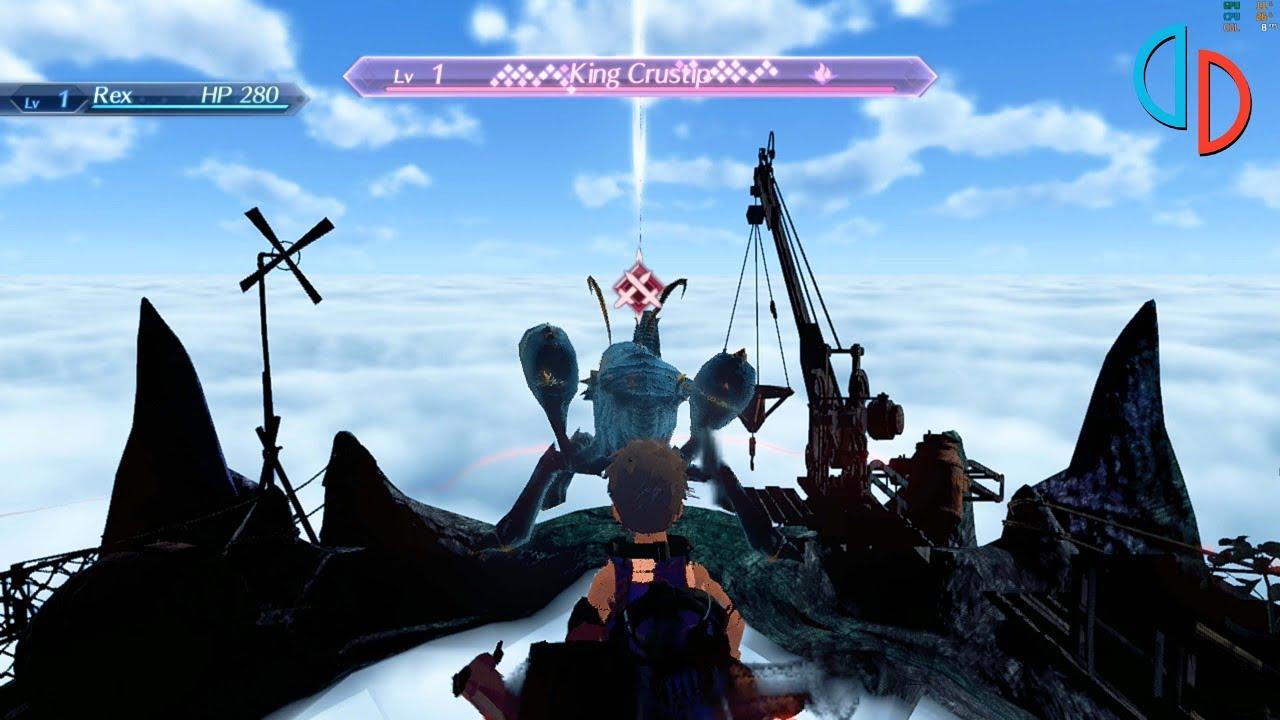 Yuzu Nintendo Switch Emulator - Xenoblade Chronicles 2 Ingame / Gameplay  (Canary 2523) #1
