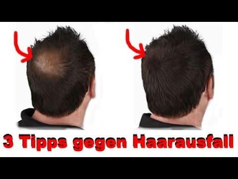 3 Tipps gegen Haarausfall