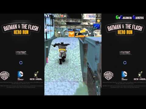 BATMAN & THE FLASH: Hero Run Android 1080p Walkthrough - Part 1 - Joker Boss