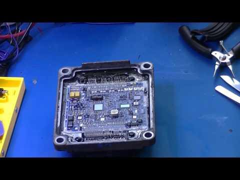 Delphi Delco HSFI. Ремонт блока управления двигателем автомобиля Опель (ECU, MCU, АСУД).