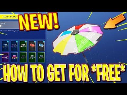 Fortnite *NEW* HIDDEN Umbrella (Victory Royale SEASON 5 *SECRET* Umbrella)