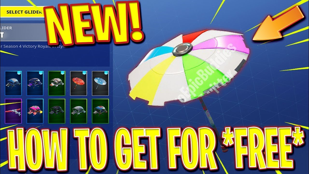 Fortnite New Hidden Umbrella Victory Royale Season 5 Secret