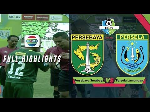 PERSEBAYA (3) vs (1) PERSELA - Full Highlights | Go-Jek Liga 1 Bersama BukaLapak