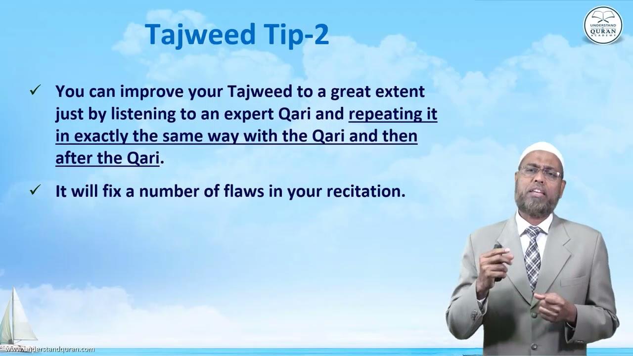 Amazing Arabic l Tajweed Tip-2 l by Dr Abdulazeez Abdulraheem