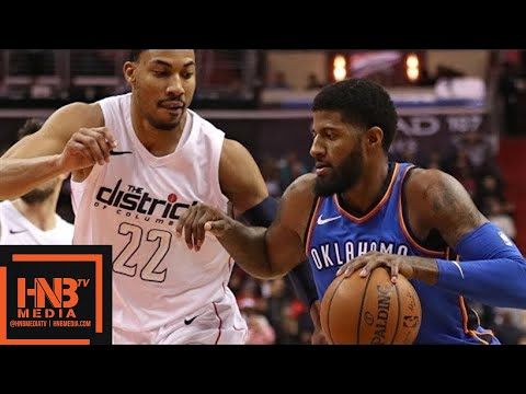 Oklahoma City Thunder vs Washington Wizards Full Game Highlights / Jan 30 / 2017-18 NBA Season