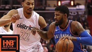 Oklahoma City Thunder vs Washington Wizards Full Game Highlights / Jan 30 / 2017-18 NBA Season