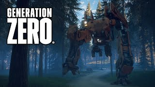 Taking Down a Huge Robot in Generation Zero Closed Beta