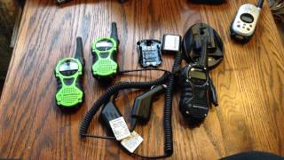 Motorola T6300 series scrambled two way FRS radios