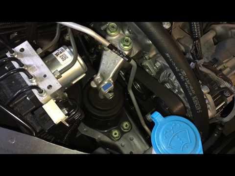2013-2017 Honda Accord Side Motor Mount Replacement DIY