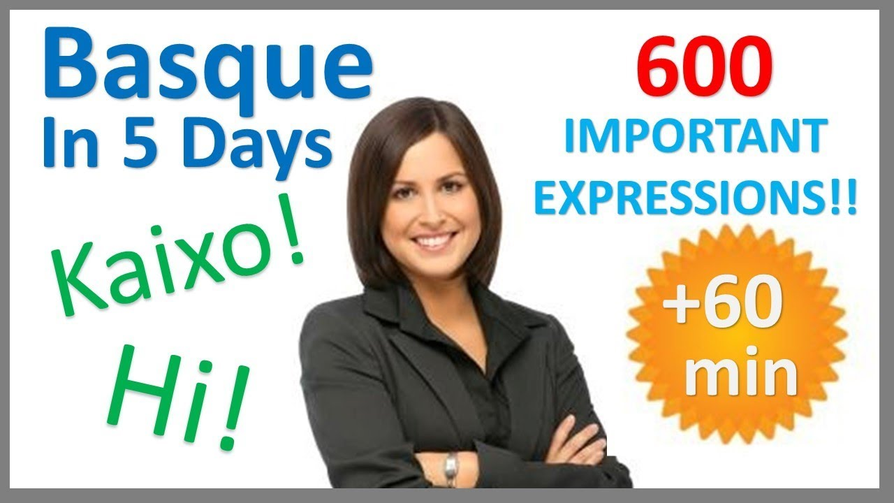 Learn Basque in 5 Days - Conversation for Beginners ...