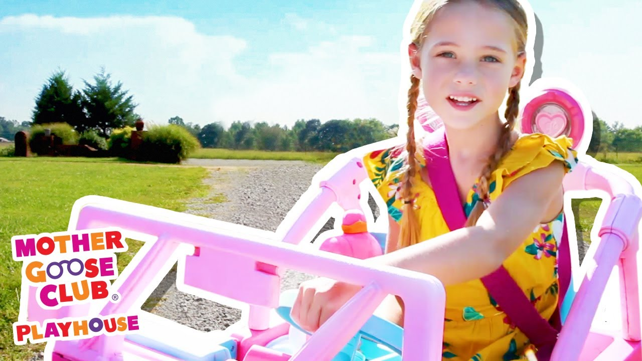 Driving in My Car (Music Video) | Mother Goose Club Playhouse Songs & Rhymes