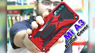 Mi A3 best Armor cover from Flipkart vakibo rugged cover for Xiaomi a3 full review [ Hindi ]