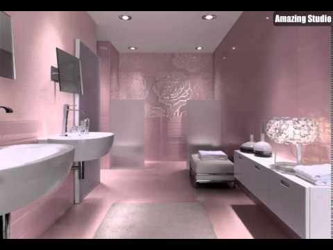 Floral Metallic Badezimmer Mosaik Fliesen YouTube - Mosaik fliesen metallic