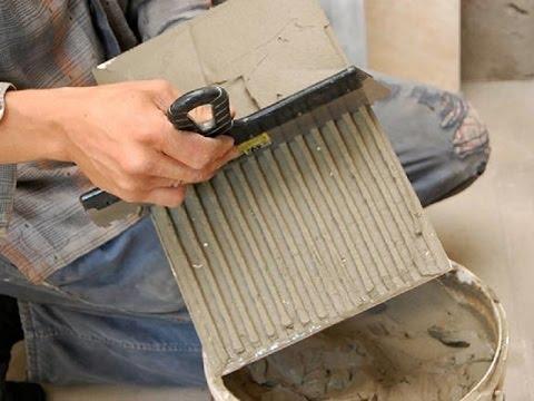 Облицовка стен керамической плиткой – как класть плитку на стену