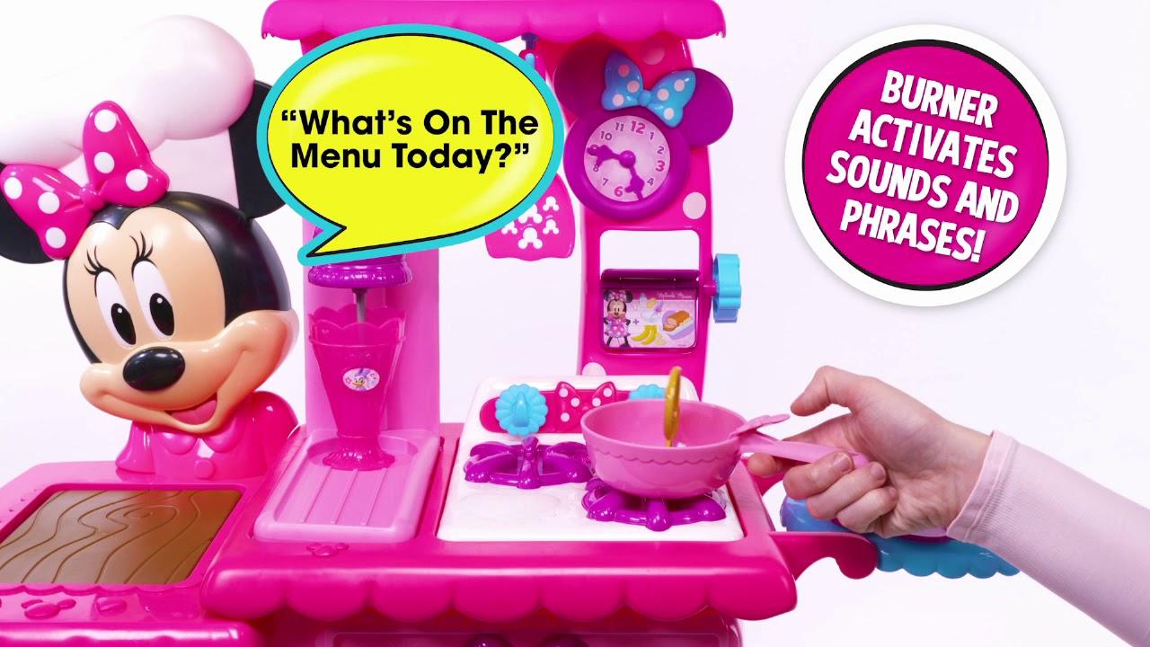 Disney Minnie Mouse Flipping Fun Kitchen Smyths Toys Youtube