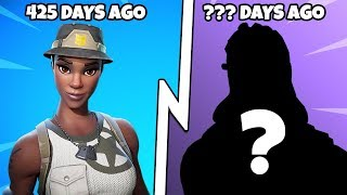TOP 20 RAREST ITEM SHOP SKINS! (Rare Fortnite Skins)