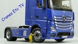 NZG Mercedes-Benz Actros GigaSpace 'Blue' by Cranes Etc TV