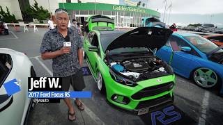 homepage tile video photo for Jeff's 2017 Ford Focus RS with turbos and nitrous injection