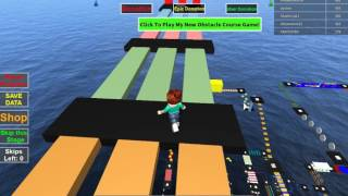 ROBLOX Mega Fun Obby Walkthrough Stage 435