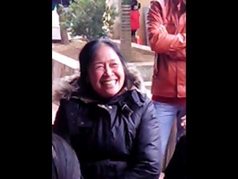Ca sĩ Trang Nhung tại quê chồng  Lương Tài Bắc Ninh