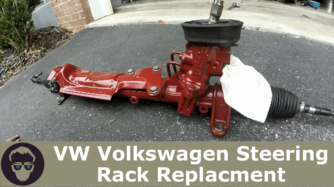 VW Volkswagen Steering Rack DIY MK4 Golf Gti Jetta R32