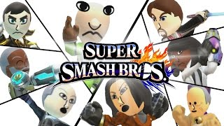 Celebrity Smash! Character Reveals and Amiibo Battles - Super Smash Bros Funny Moments!