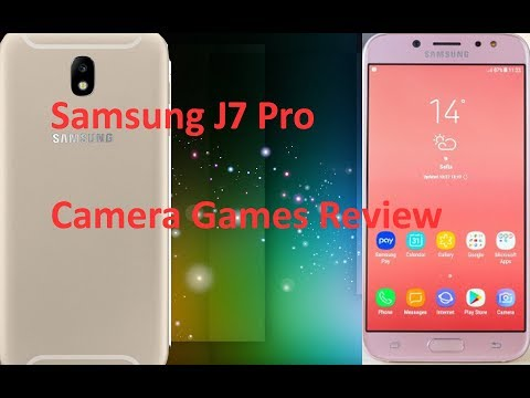 Samsung J7 Pro Hands on Review Camera, Games