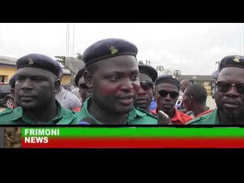 NIGERIA NEWS :NIGERIA POLICE DELTA PARADES SUSPECT