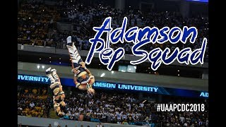 Adamson Pep Squad - UAAP Cheerdance Competition 2018