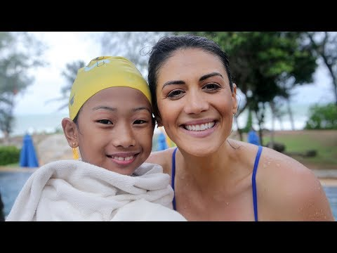 Family by JW with Stephanie Rice , program in Asia Pacific at #JW Marriott Phuket Resort & Spa