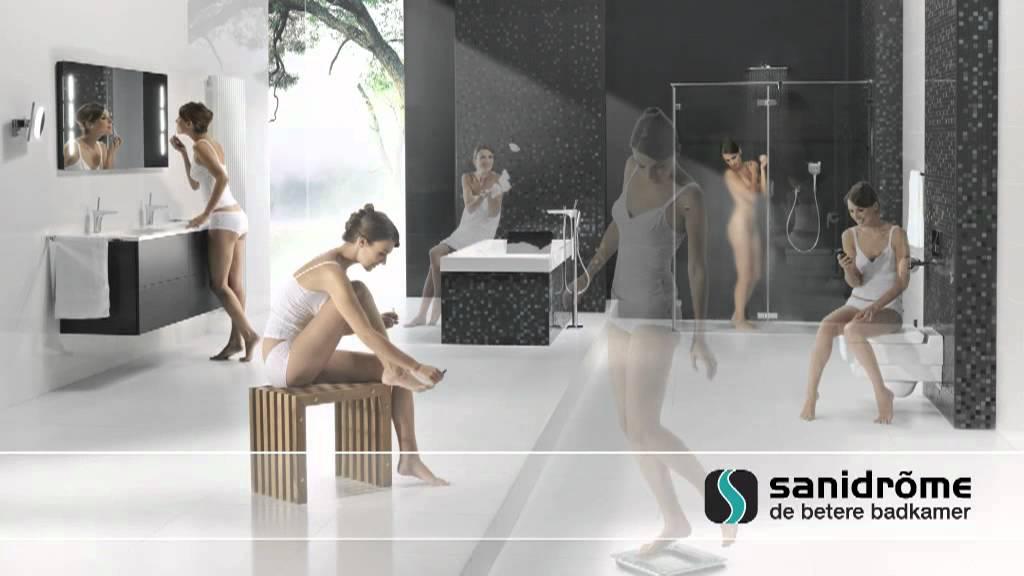 Sanidrõme de betere badkamer van schets tot realiteit youtube